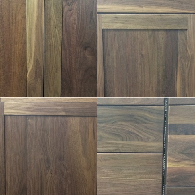 Walnut Striking Color Difference