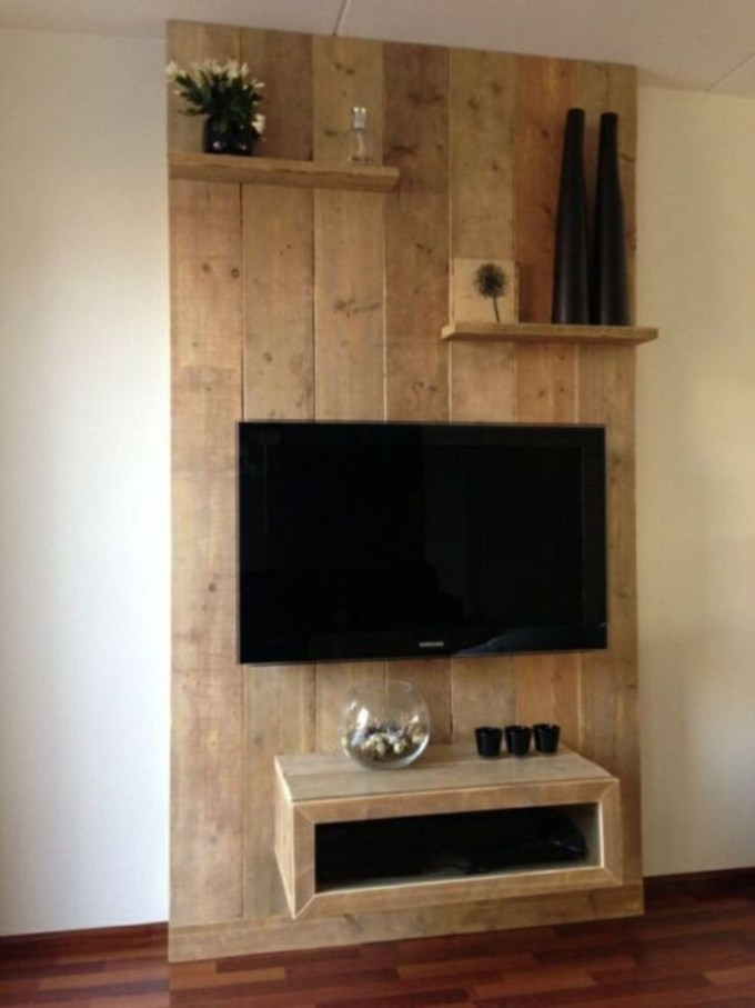 Floor-to-Ceiling TV Stand