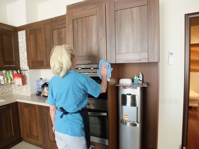 Cleaning Walnut Kitchen Cabinets