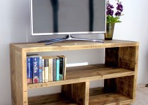 35+ DIY Wood TV Stands Ideas to Complete Your Space