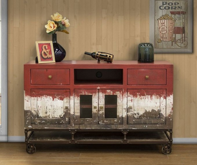 Upcycled Old TV Stand