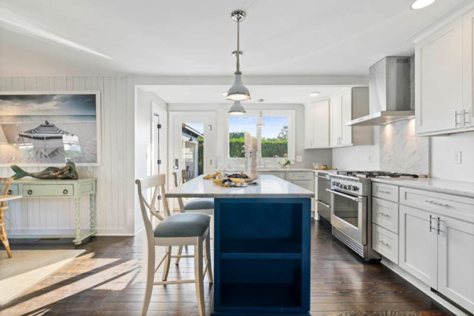 Small Kitchen Island and Dining Table