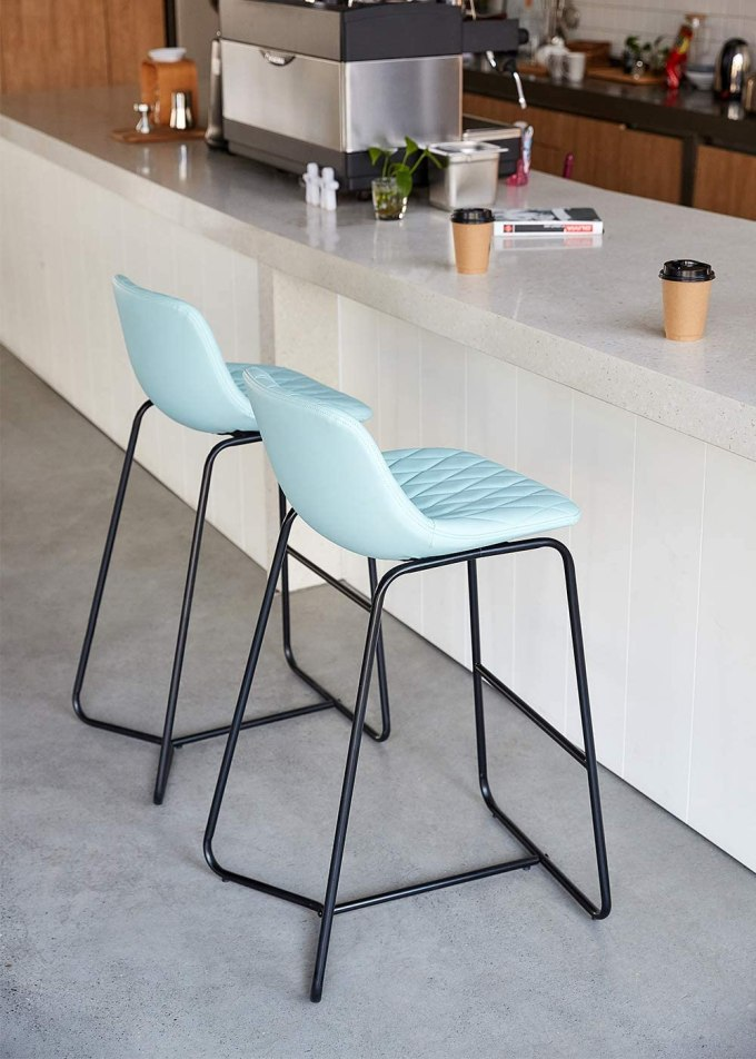 Teal Chairs for Kitchen Island