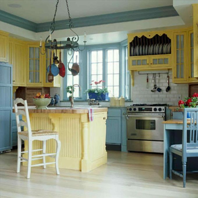 Yellow and Teal Combo with Softer Shades