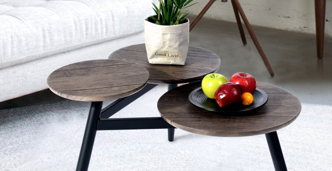 30+ Unique Small Coffee Table Ideas for Casual and Work