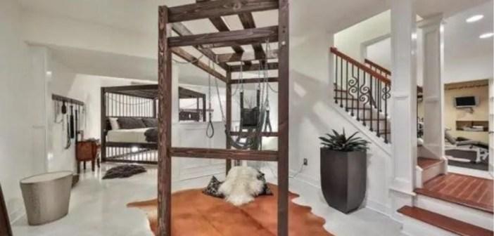 BINNENKIJKEN in een huis dat voor 750.000 dollar te koop staat, maar een kelder heeft die voor 2000 dollar per weekend verhuurd wordt….