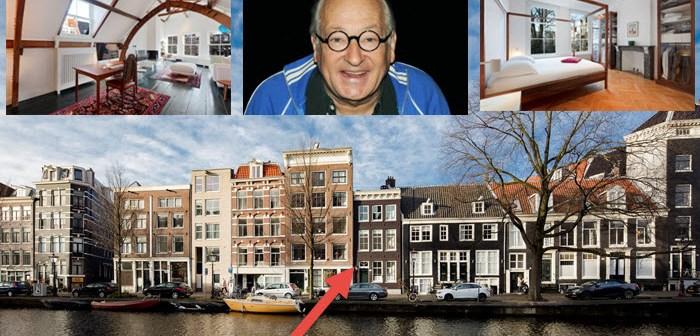 BINNENKIJKEN bij YOUP VAN 'T HEK die voor € 2.350.000 zijn 'sterfhuis' aan de Amsterdamse gracht koopt
