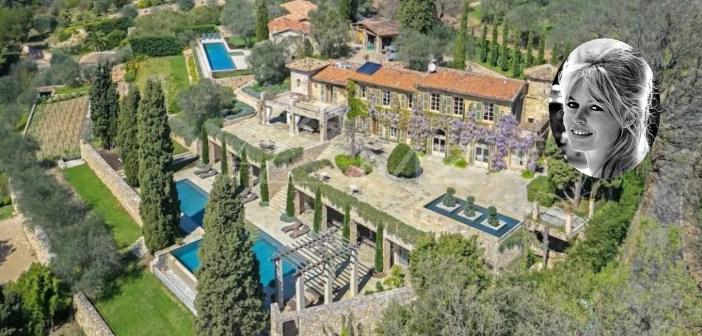 BINNENKIJKEN in de dromerige villa van BRIGITTE BARDOT aan de Côte d'Azur die voor zes miljoen te koop staat