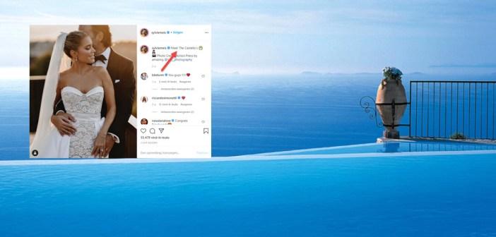 BINNENKIJKEN – Dat zal man Niclas leuk vinden… Sylvie Meis onthult naam 5* hotel op Capri waar ze op huwelijksreis is