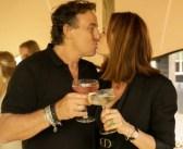 IN BEELD! De eerste kus van de tweede kans relatie van Marco en Leontine