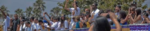 LA Lakers Championship Parade By JB Brookman-30 Team Float