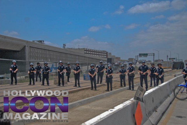 LA Lakers Championship Parade By JB Brookman-43 Police