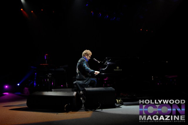 """""""Rocketman"""" Was One Of The High Points Of A Night Filled With Excitement- Elton John At The SunDome.  Photo: JB Brookman"""