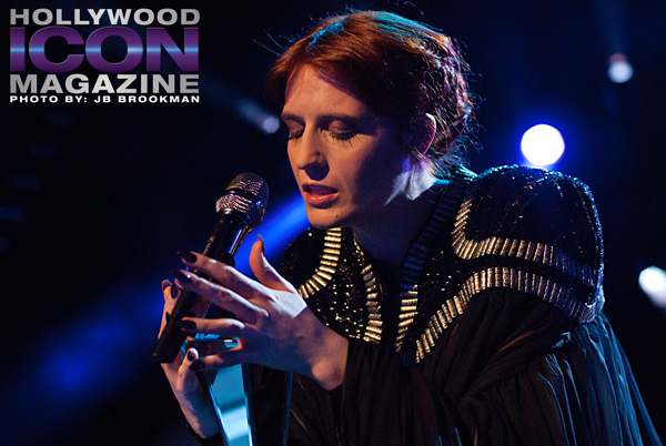 Florence + The Machine perform Dog Days Are Over in Santa Barbara. Photo: JB Brookman