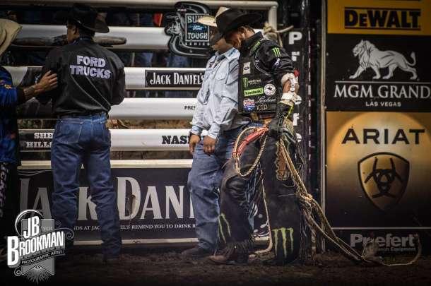 PBR Nashville at Bridgestone Arena.  Photo: John David Portraits