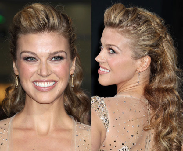 Adrianne Palicki's Hair — Her Romantic Updo At 'G.I. Joe ...