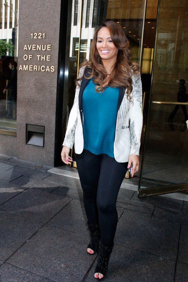 Evelyn Lozada Daughter Father : evelyn, lozada, daughter, father, Evelyn, Lozada, Pregnant, Johnson, Baby's, Father?, Hollywood