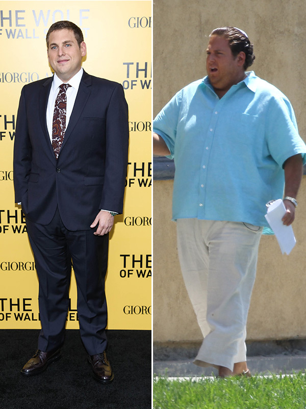 Jonah Hill Before And After : jonah, before, after, Jonah, Hill's, Weight, Gain:, Before, After, 'Arms, Dudes', Hollywood