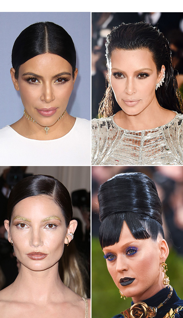Katy Perry Eye Brows : perry, brows, Makeovers, Looks, Kardashian,, Perry, Hollywood