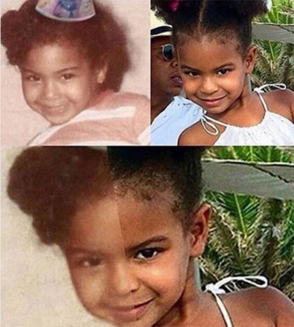 blue ivy beyonce s twin pic mom