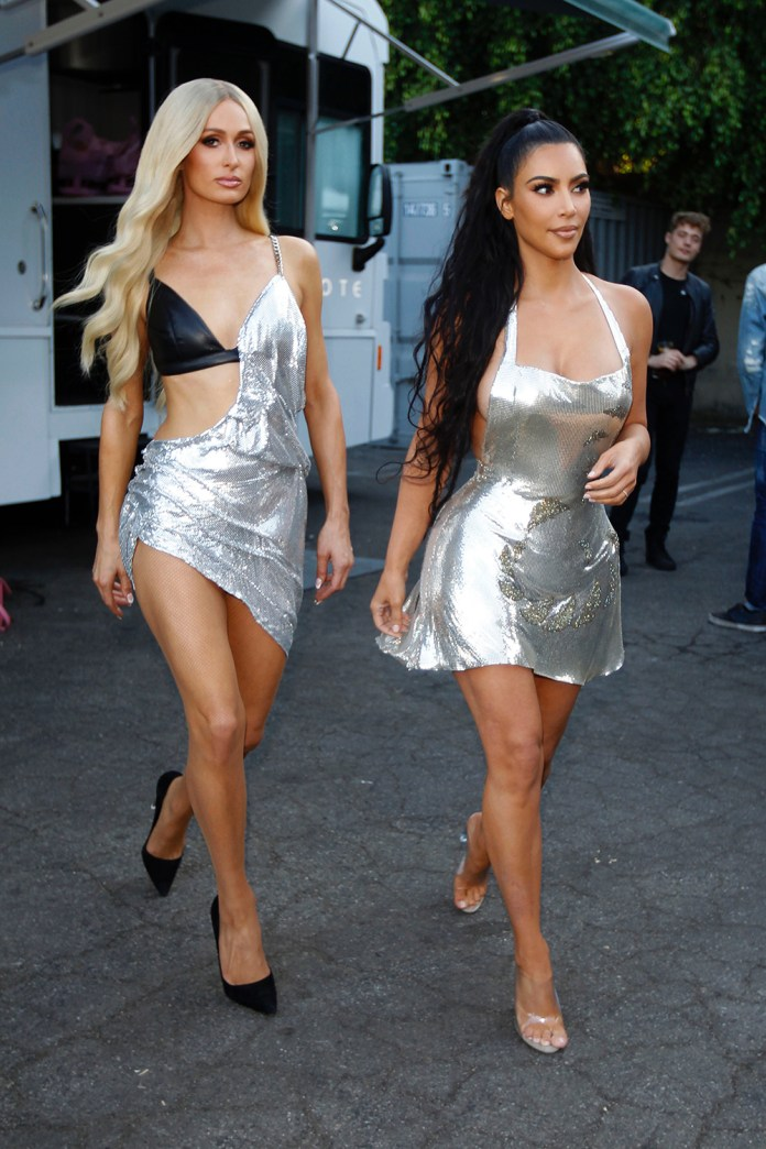 Paris Hilton, Kim Kardashian West