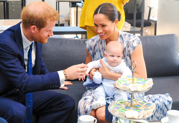 Prince Harry, Meghan Markle & baby Archie