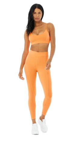 orange workout set