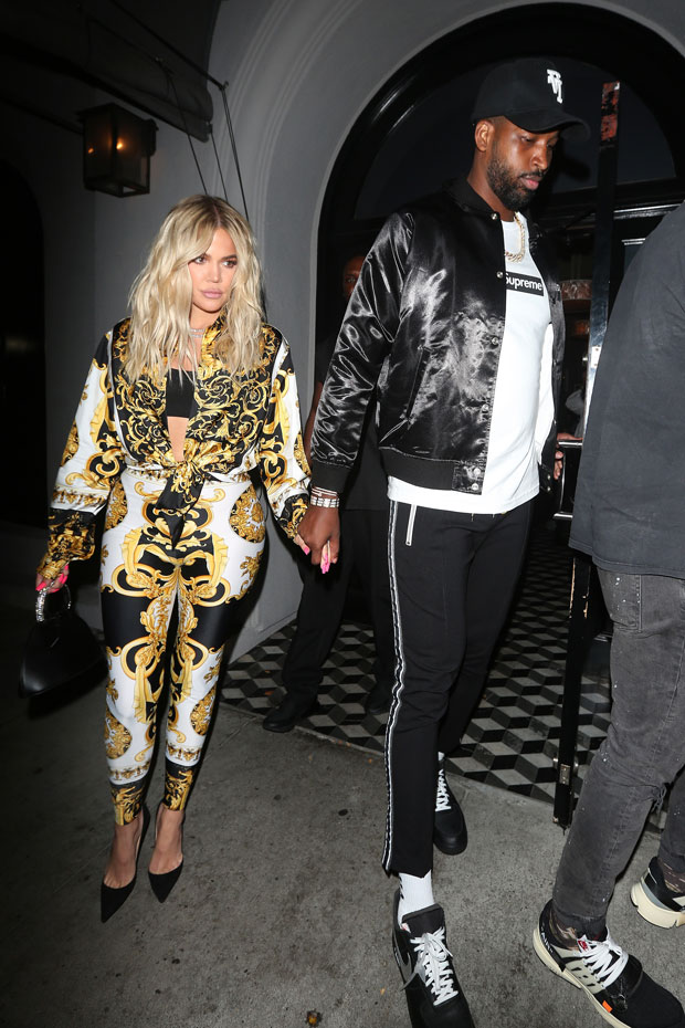 Khloe Kardashian Gets Surprise From Tristan Thompson ...
