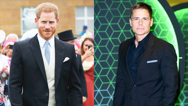 Prince Harry Is Now Sporting A Ponytail, According To Rob Lowe: Watch – Gadget Clock