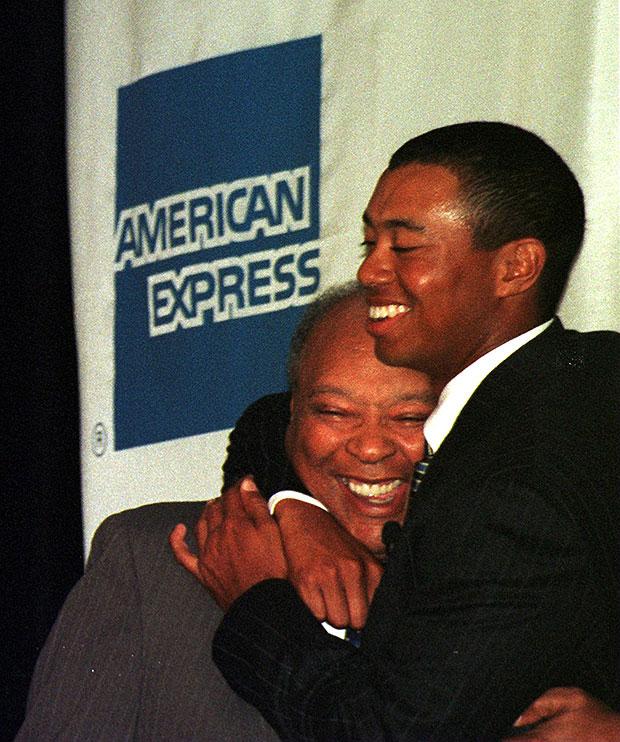 Earl Woods, Tiger Woods