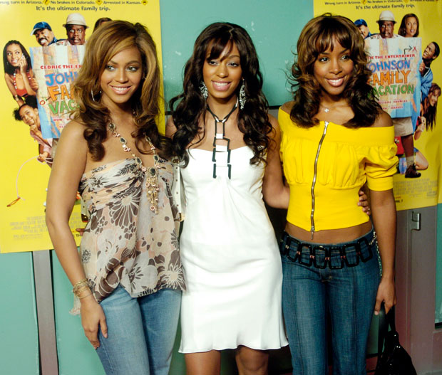 Beyoncé Knowles, Solange Knowles, Kelly Rowland