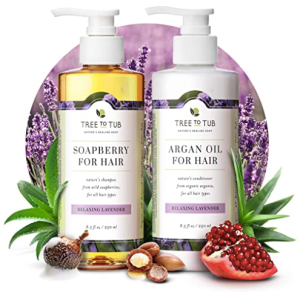 Tree to Tub shampoo and conditioner duo