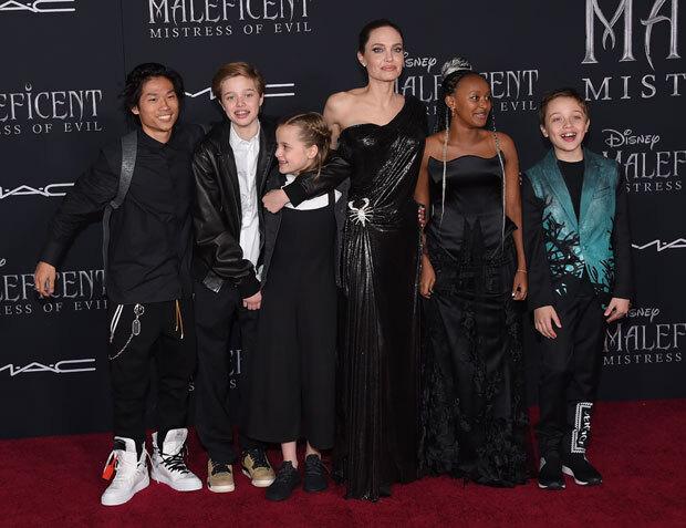 Angelina Jolie's kids