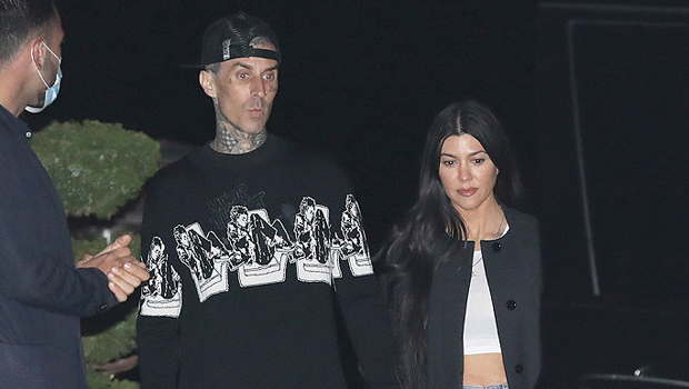 Kourtney Kardashian Thong Bikini Rocks,  As She Passionately Makes Out With Travis Barker
