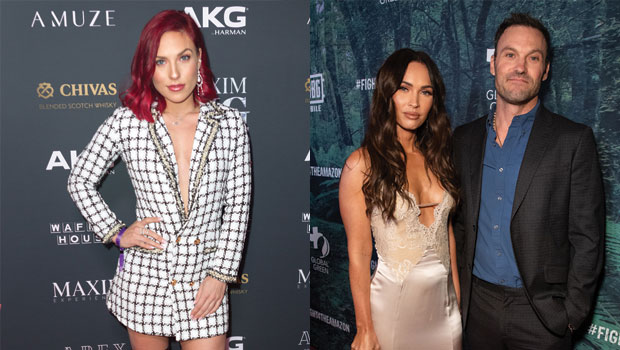 How Sharna Burgess Has Helped BF Brian Austin Green 'Improve' His Relationship With Ex Megan Fox