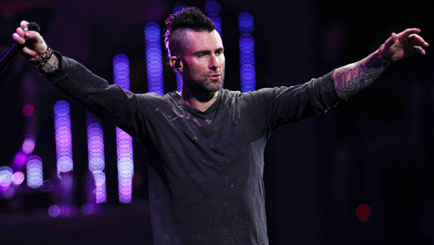 Adam Levine Shows Off New 'White-ish Silver' Hair Makeover — Before & After Pics