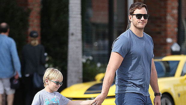 Chris Pratt Shares Rare Selfie With Son Jack, 8, & Daughter Lyla, 8 Mos., During 'Baby Time'