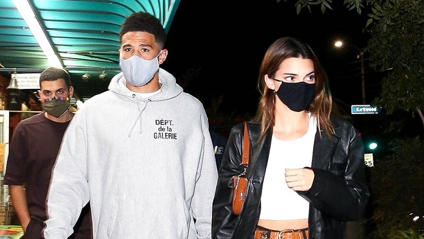 Kendall Jenner Cheers On Sister Kylie As She Goes Head-To-Head With BF Devin Booker For Pop-A-Shot