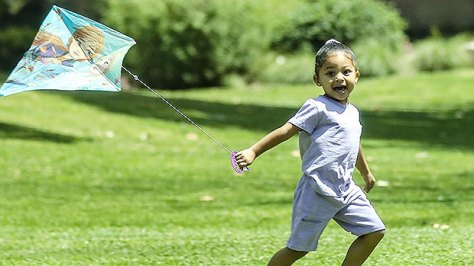 Kylie Jenner's Daughter Stormi Webster, 3, Looks Too Cute Playing With Her Kite In The Park
