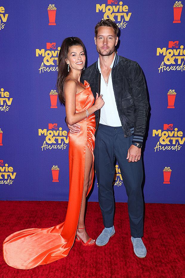 Justin Hartley, Sofia Pernas MTV Movie & TV Awards 2021