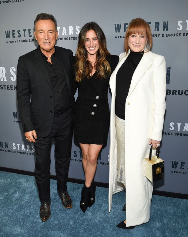 jessica springsteen with dad bruce and mom patti