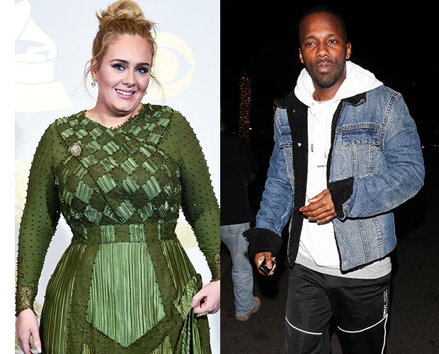 Adele;  Rich Paul