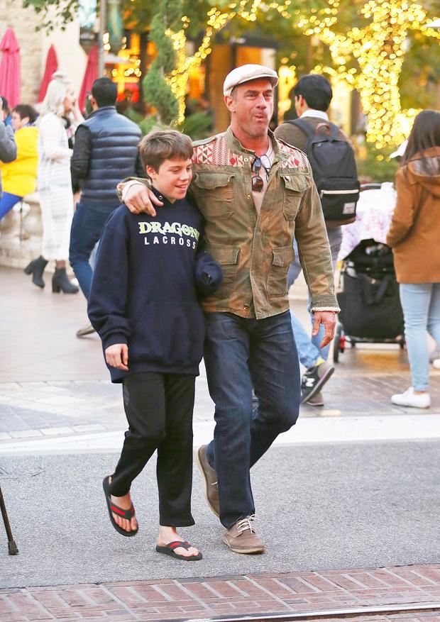 Christopher Meloni & son Dante Meloni
