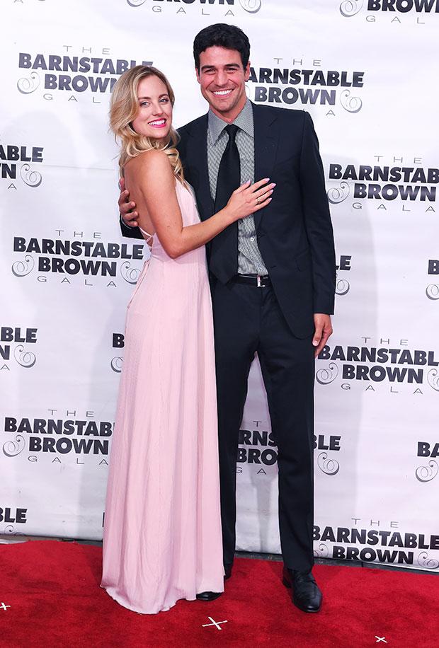 Joe Amabile and Kendall Long