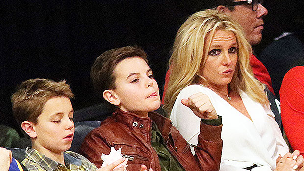 Britney Spears & Sons Sean & Jayden
