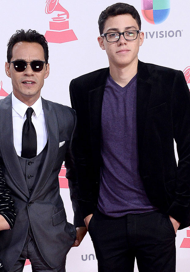 marc anthony and son cristian