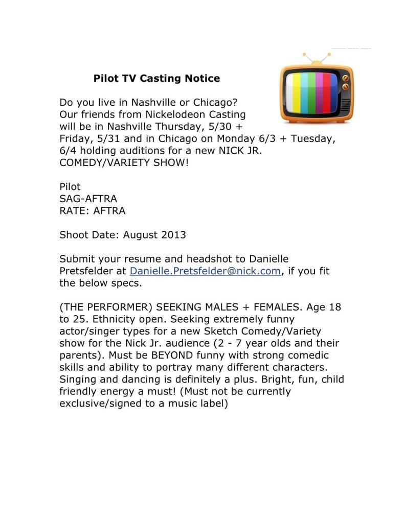 Nickelodeon Open Casting Calls 2020 : nickelodeon, casting, calls, CHICAGO, CASTING, CALL:, Nickelodeon, Casting, Older, Teens, Variety, @NickelodeonCast, Hollywood