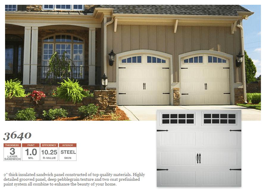 Doorlink 3640 Grooved Ranch Panel  Hollywood Garage Door Co