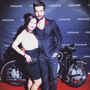 With my friend, doctor, lawyer, published author, model and GQ insider Pedram Navab on the red carpet