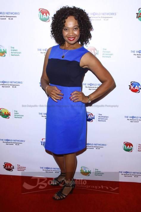 Actress Sorina Sambula